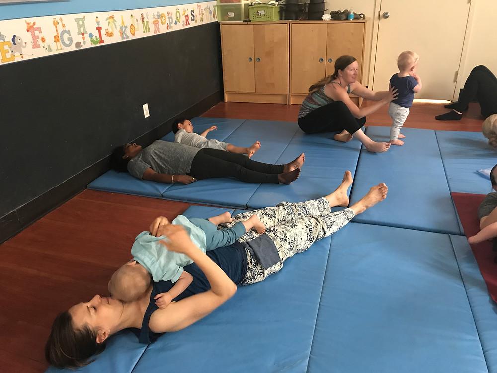 Savasana in Story Time Yoga