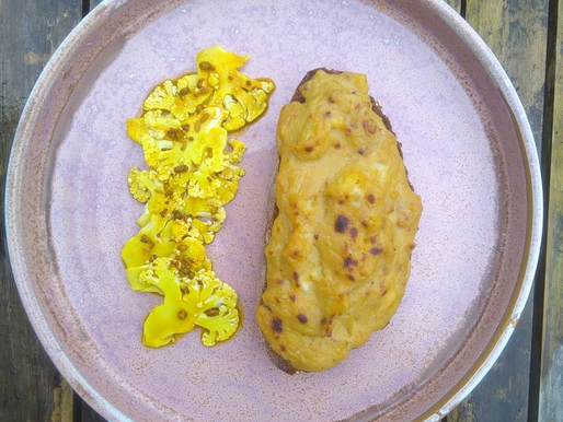 Piccalilli Pickle and Welsh Rarebit
