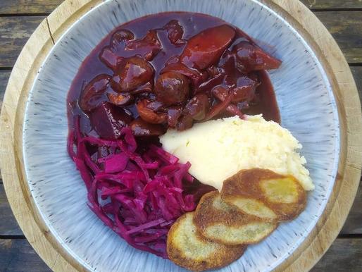 Beetroot & Red Wine Winter Stew