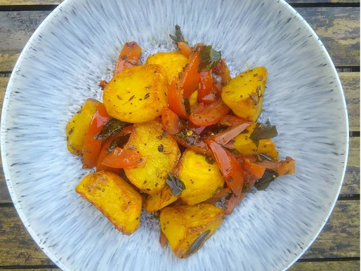 Spiced Turmeric Roast Potatoes