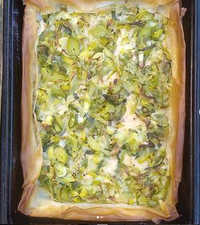 Serves 4-6 · 2 large parsnips (about 200g) · Plant-based or dairy milk · Butter, vegan butter or olive oil · 2 leeks · Dijon Mustard · 1 ...