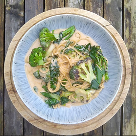 A simple and quick lunch that uses all of the broccoli. Serves 2 · 1 head of Broccoli · Broccoli leaves (if you have them available) · Ga...