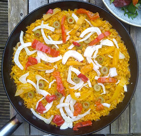 A plant-based paella that may not be authentic but is delicious, nonetheless. A great dish for using up odds and ends of vegetables- they...