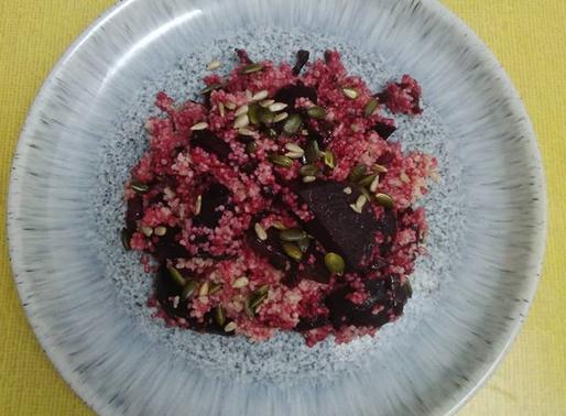 Beetroot & Cous Cous Salad