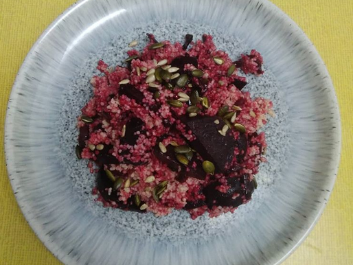 Beetroot & Cous Cous Salad