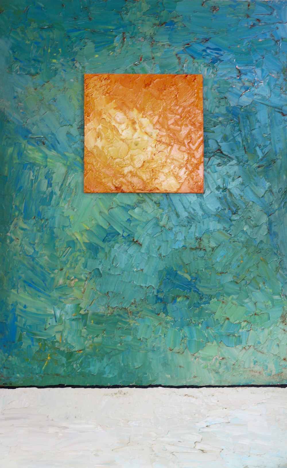 abstract art, saligia art gallery nelson new zealand, contemporary painting