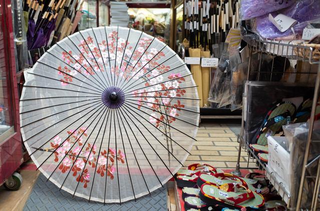 舞扇(紙傘・絹傘)