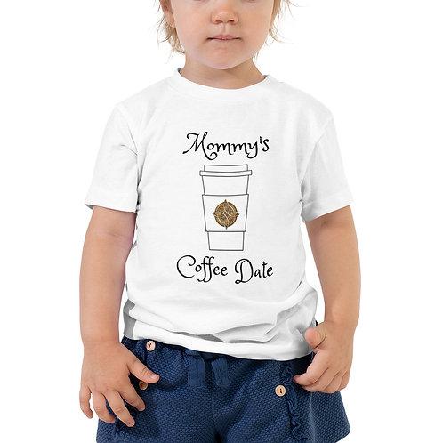 Toddler Tee - Mommy's Coffee Date | Ricks Roasters Coffee Swag