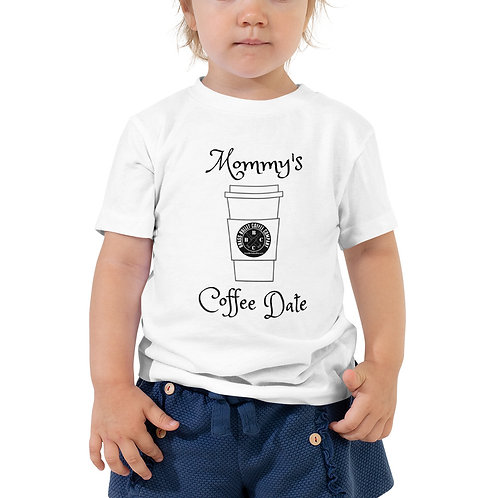 Toddler Tee - Mommy's Coffee Date | Brass Bullet Coffee Swag