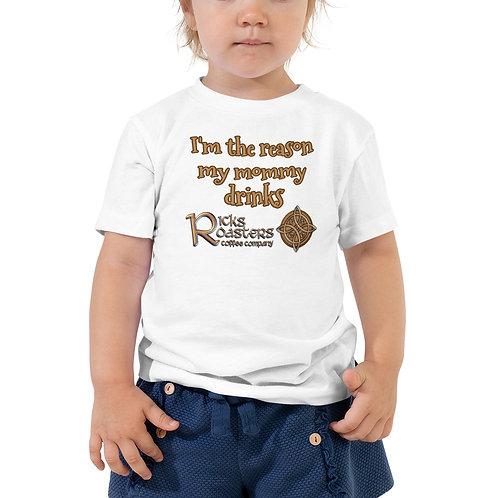Toddler Tee - Mommy Drinks Ricks Roasters