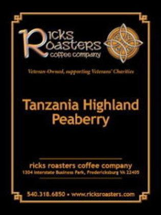 Tanzania Highland Peaberry