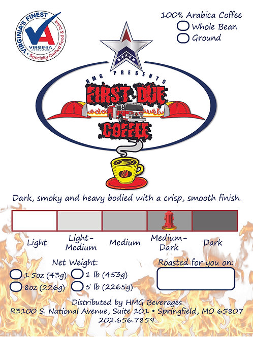 First Due Coffee | HMG Beverage