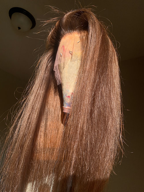 Chocolate Raw Indian Full Lace Wig