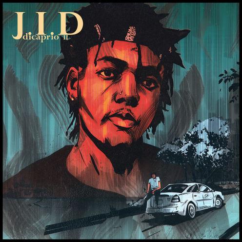 'J.I.D' - Dicaprio II album cover illustration