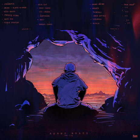 THE CAVE album cover (back)