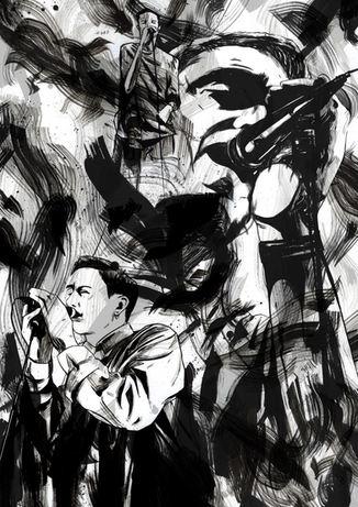 'RHYE' - album cover inks