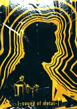 'SOUND OF METAL' poster