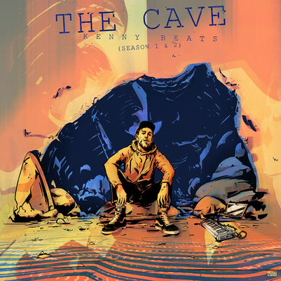 THE CAVE album cover (front)