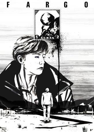 'Fargo' - Illustrated poster
