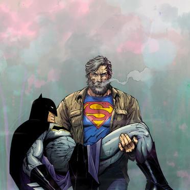 BATMAN-SUPERMAN colour sample