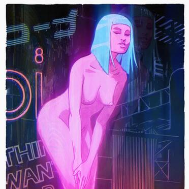 Blade Runner 2049 colours