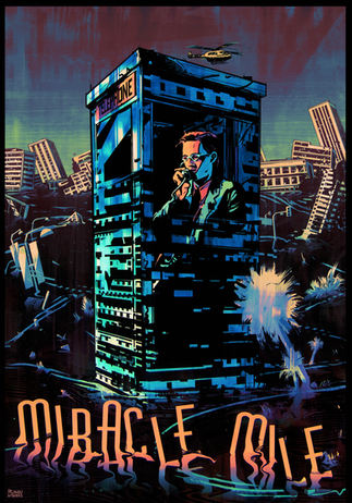Illustrated 'Miracle Mile' poster