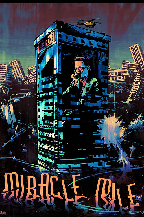 Illustrated MIRACLE MILE poster