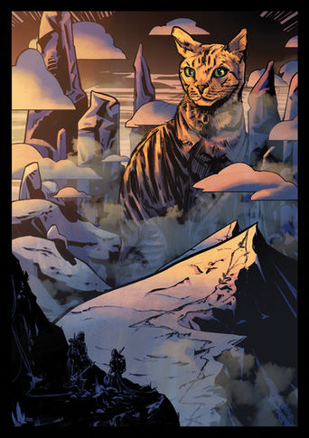 MOUNTAIN CAT 2 - private commission