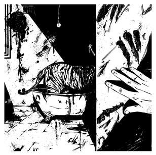 THREE PANEL CRIMES - panel 2 inks