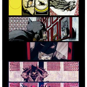 'Batman' - colouring sample