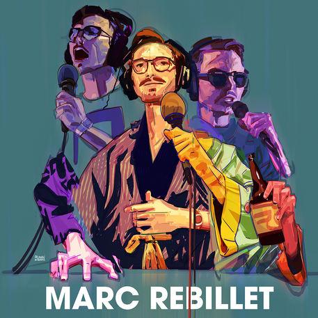 Marc Rebillet illustration
