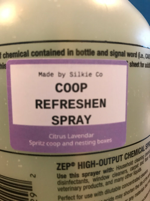 Silkie Co's Coop Refreshening Spray