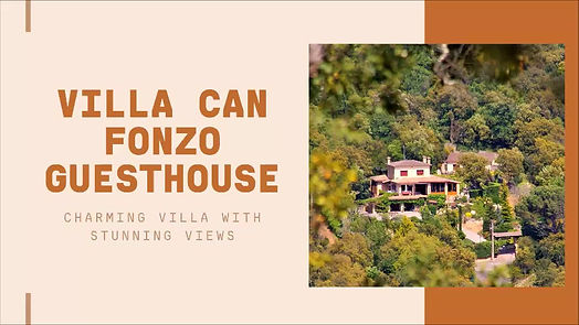 Welcome at villa CAN FONZO guesthouse