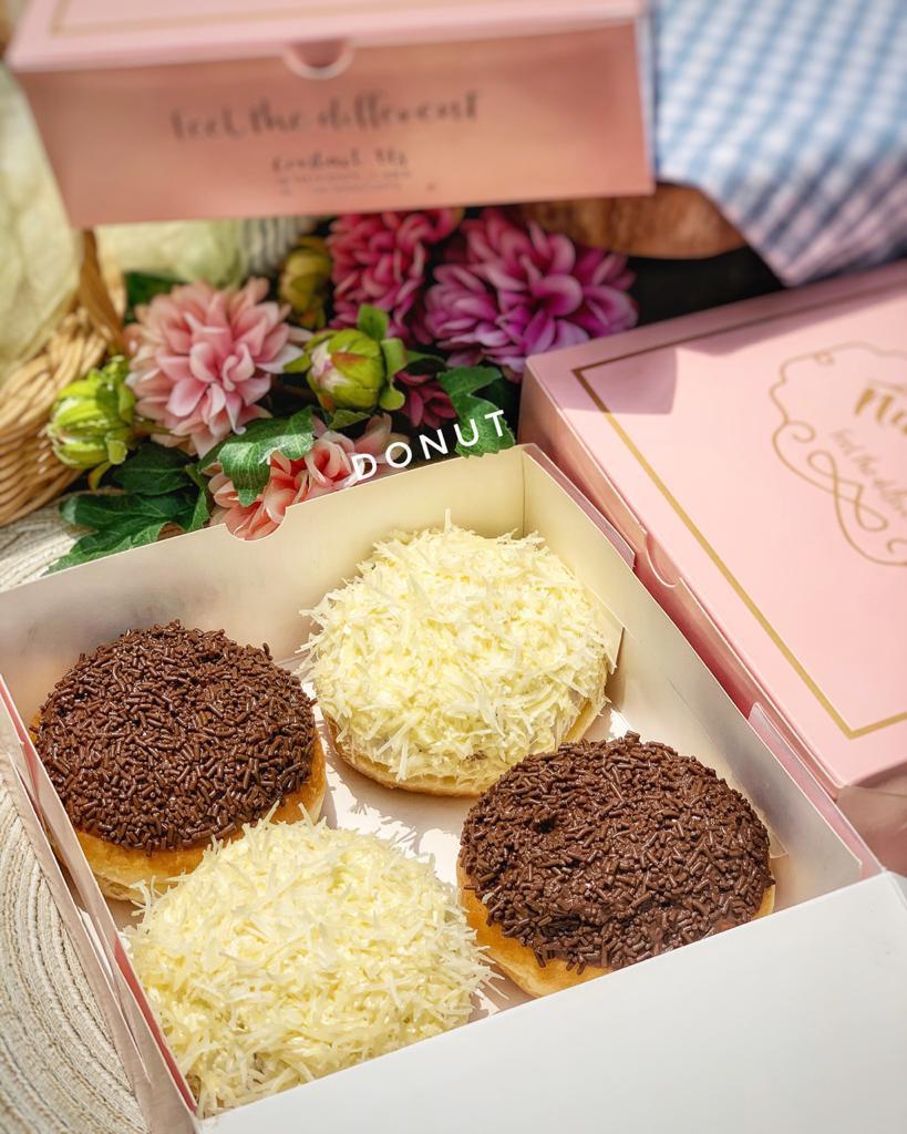 donut coklat nutaste cake