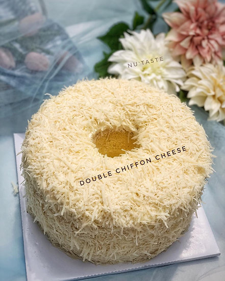 Double Chiffon Cheese Cake