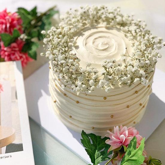 baby breath cake