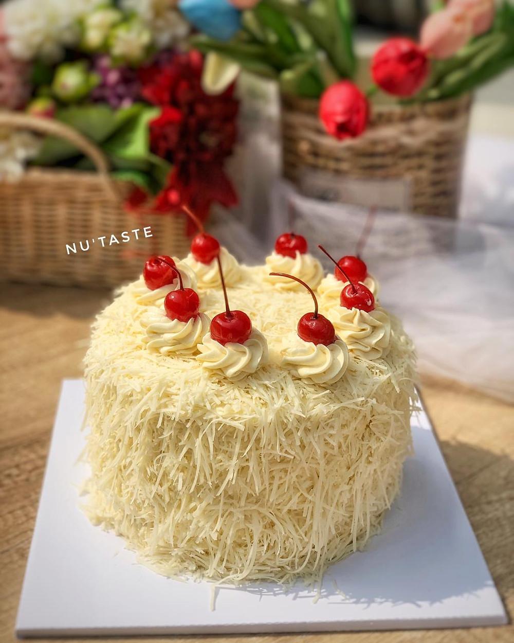Chiffon Cheese Cake