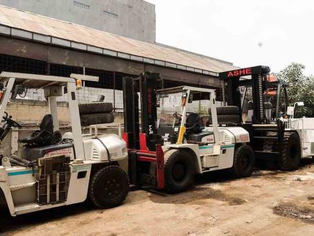 Mengetahui 8 Jenis Forklift Berdasarkan kegunaannya