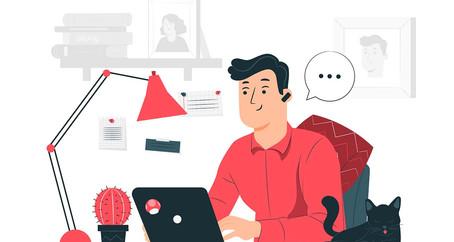 Bekerja dari rumah sebagai Freelance atau Remote Works