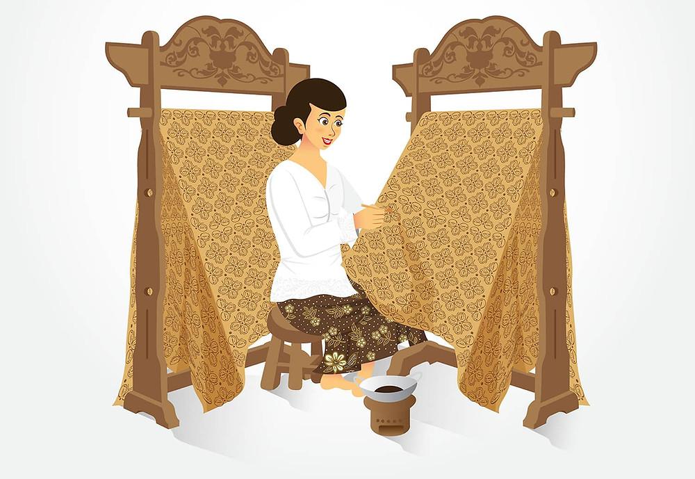 pembuatan batik tradisional