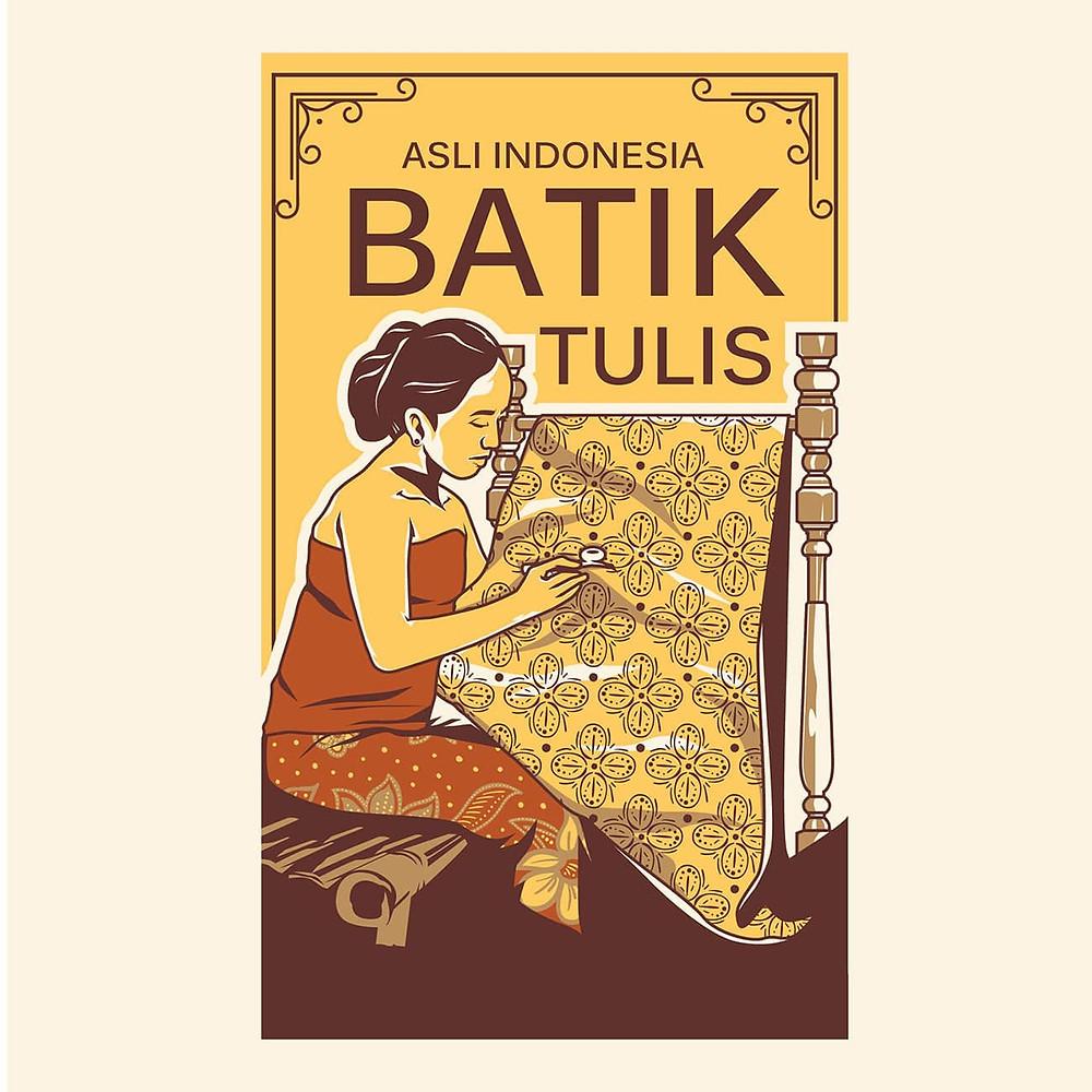 ciri - ciri batik tulis