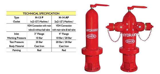 fire hydrant pillar