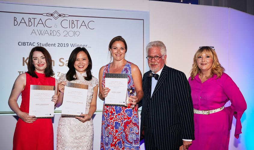 Helen Leung 獲頒 CIBTAC Student of the Year Finalist 2018-19