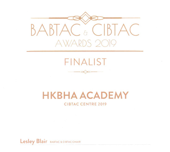 HKBHA Academy - Centre of the Year 2019 Finalistjpg