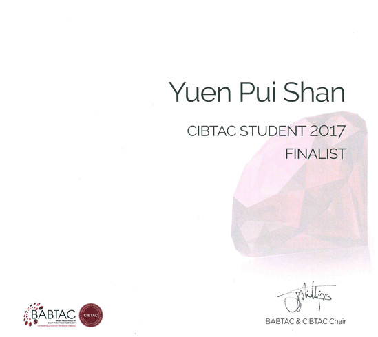 Student of the Year 2017 Finalist
