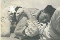 Sensei Masao Kawasaki hold down