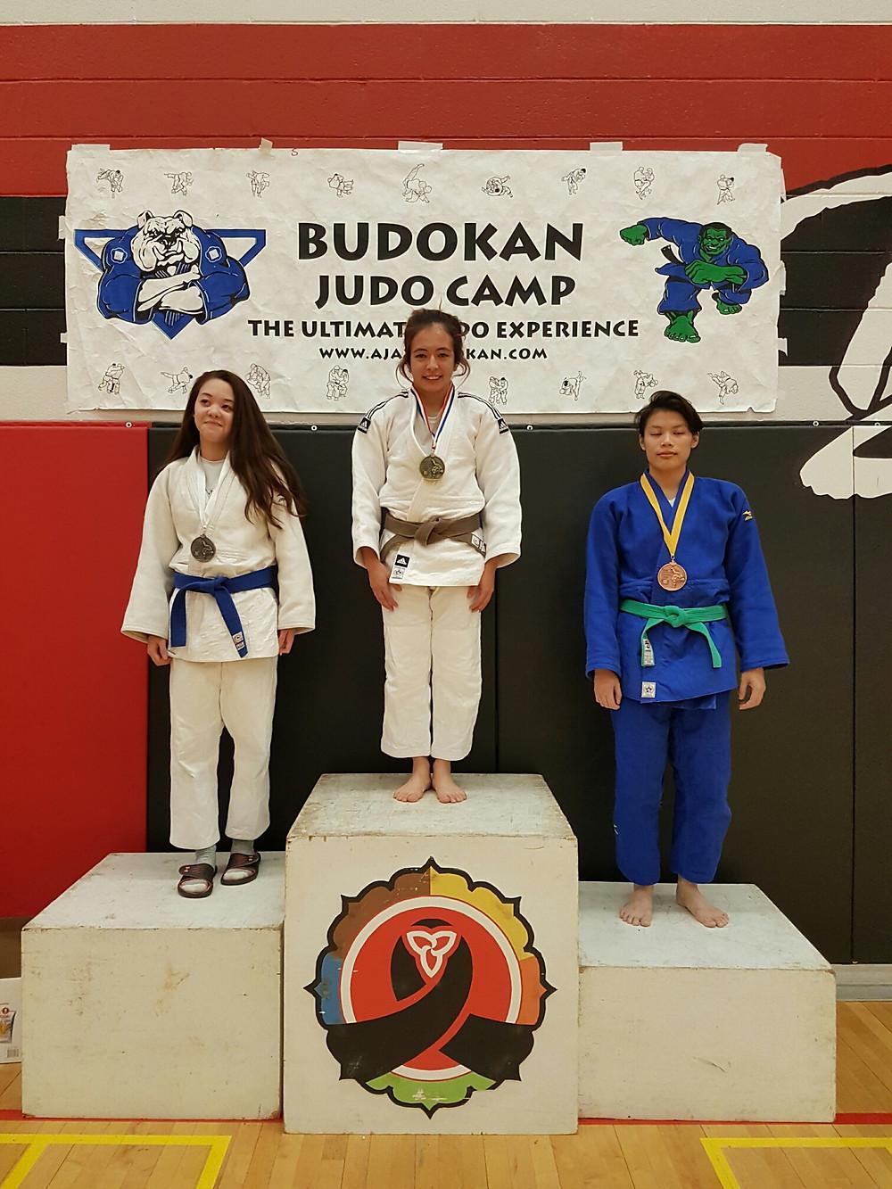 Ajax Budokan Tournament - Carolina Kawasaki wins Gold