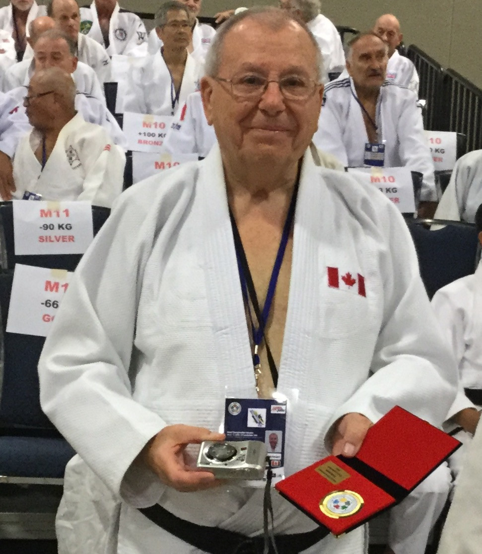 Sensei Herman Vermeiren Wins GOLD