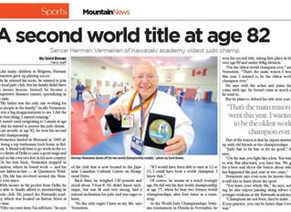 Second World Title, Sensei Herman