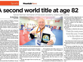 Second World Title, Sensei Herman